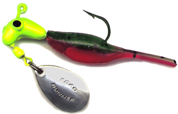 road runner bubble belly blakemore lures fishing master